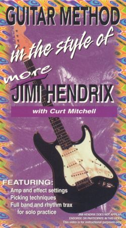 Guitar Method: In the Style of More Jimi Hendrix
