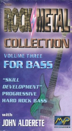 Rock/Metal Collection, Vol. 3: For Bass - John Alderete