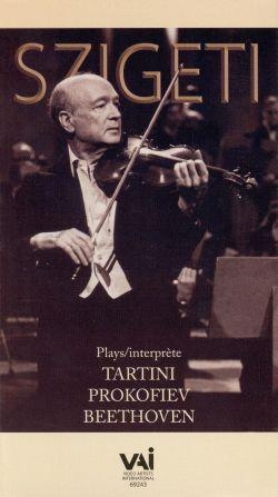Joseph Szigeti: Beethoven/Tartini/Prokofiev