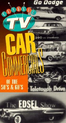 Classic TV Car Commercials of the 50s & 60s