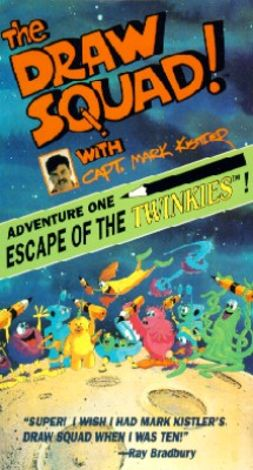Draw Squad with Capt. Mark Kistler: Escape of the Twinkies