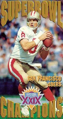 NFL: Super Bowl XXIX - San Francisco 49ers