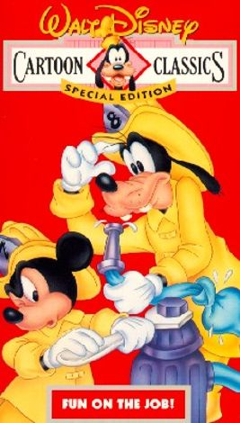 Fun on the Job!: Walt Disney Cartoon Classics Special Edition