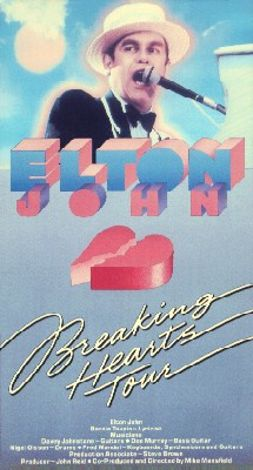 Elton John: Breaking Hearts Tour