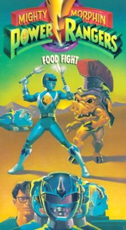 Mighty Morphin Power Rangers : Food Fight
