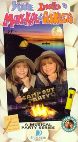 You're Invited To... : Mary-Kate and Ashley's Camp Out Party