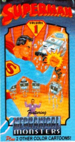 Superman : The Mechanical Monsters