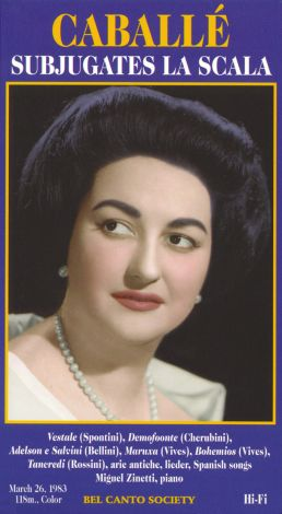 Montserrat Caballe: Subjugates La Scala