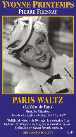 Yvonne Printemps: Paris Waltz