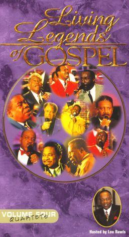Living Legends of Gospel: Quartets, Vol. 4