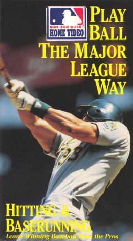 MLB: Play Ball the Major League Way - Hitting & Baserunning