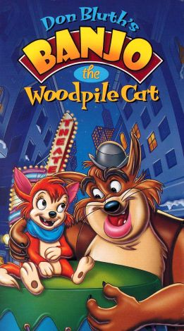Banjo the Woodpile Cat