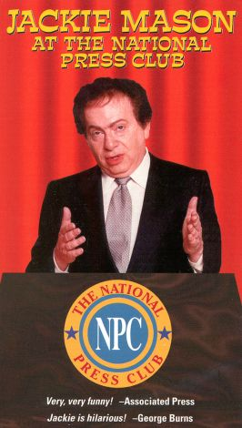 Jackie Mason at the National Press Club