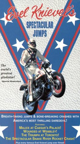 Evel Knievel's Spectacular Jumps
