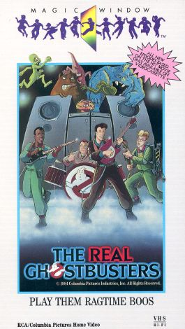 The Real Ghostbusters : Play Them Ragtime Boos