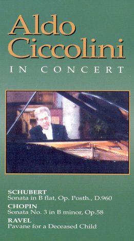 Aldo Ciccolini: In Concert