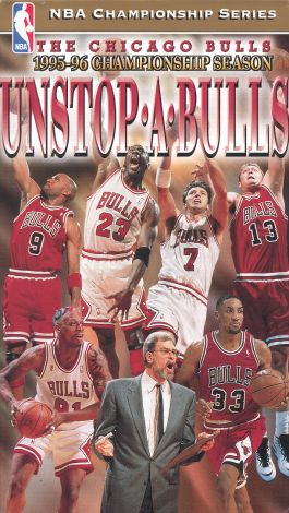 The Official 1996 NBA Championship: Unstop-A-Bulls
