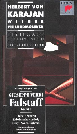 Herbert Von Karajan - His Legacy for Home Video: Giuseppe Verdi - Falstaff