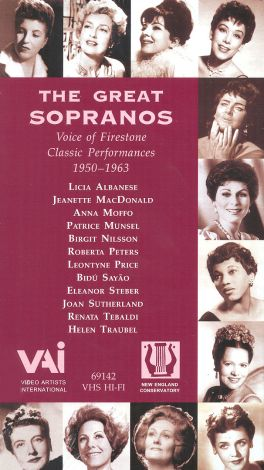 Voice of Firestone: The Great Sopranos - Classic Performances, 1950-1963