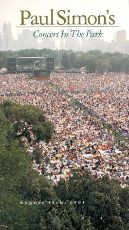 Paul Simon's Concert in Central Park