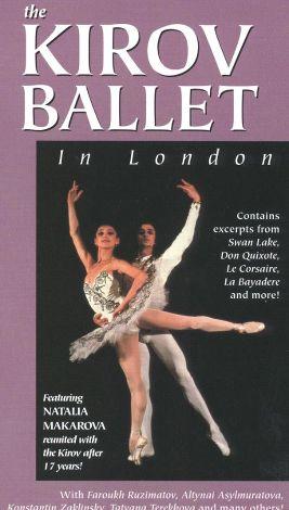 The Kirov Ballet in London
