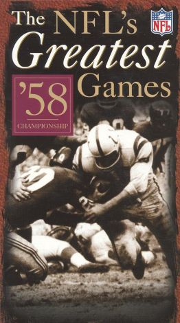 NFL's Greatest Games: '58 Championship
