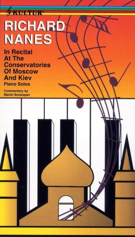 Richard Nanes in Recital at the Conservatories of Moscow and Kiev
