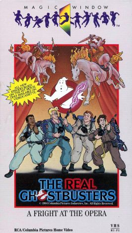 The Real Ghostbusters : A Fright at the Opera