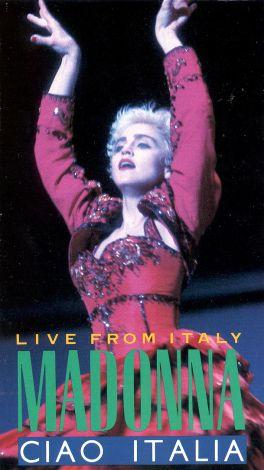 Madonna Ciao Italia 1988