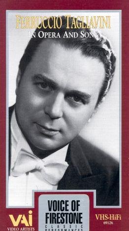 Voice of Firestone: Ferruccio Tagliavini in Opera and Song