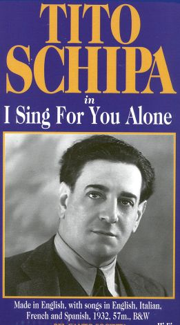 I Sing for You Alone