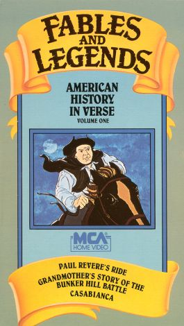 Fables and Legends: American History in Verse, Vol. 1