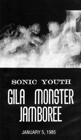 Sonic Youth: Gila Monster Jamboree