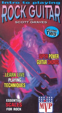 Intro to Playing Rock Guitar, Vol. 2