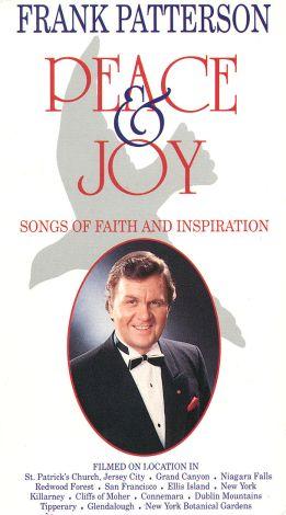 Frank Patterson: Peace & Joy