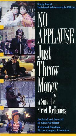 No Applause, Just Throw Money