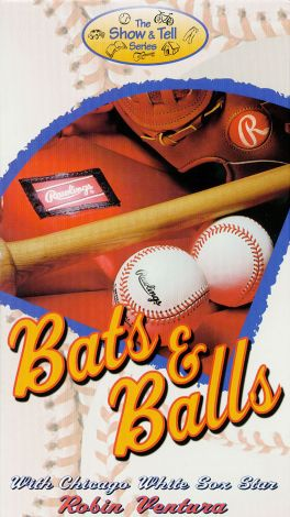 The Show & Tell Series: Bats and Balls - With Chicago White Sox Star Robin Ventura