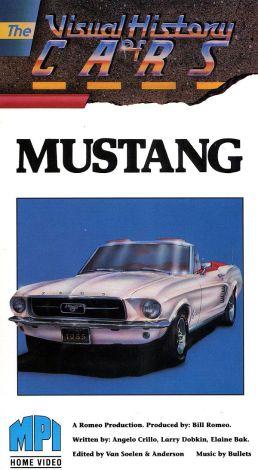 The Visual History of Cars: Mustang