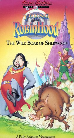 Young Robin Hood : The Wild Boar of Sherwood