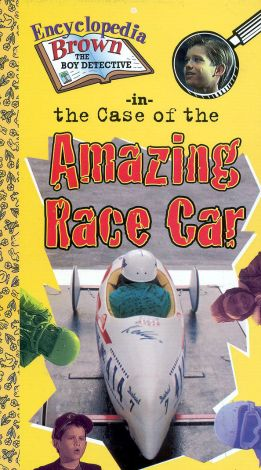 Encyclopedia Brown: The Case of the Amazing Race Car