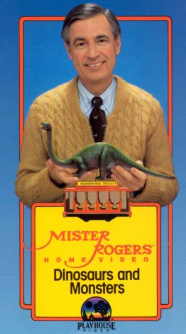 Mister Rogers Home Video: Dinosaurs and Monsters