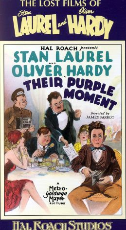 The Lost Films of Laurel and Hardy : Their Purple Moment