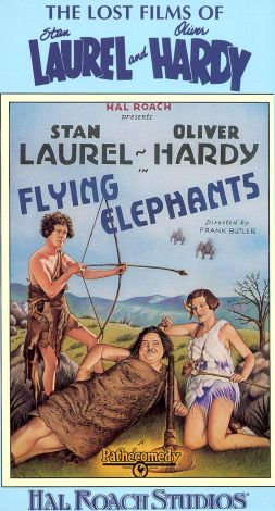 The Lost Films of Laurel and Hardy : Flying Elephants