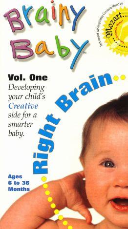 Brainy Baby: Right Brain - Inspires Creative Thinking