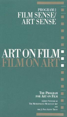 Art on Film/Film on Art : Film Sense/Art Sense