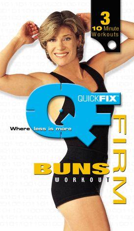 Quick Fix: Firm Buns Workout
