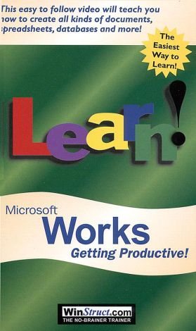Learn Microsoft Works: Getting Productive!