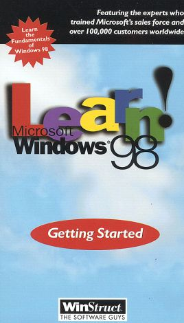 Learn Windows 98: Getting Started