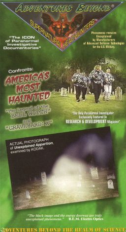 Adventures Beyond: America's Most Haunted - The Legend of the Bell Witch and Graveyard X