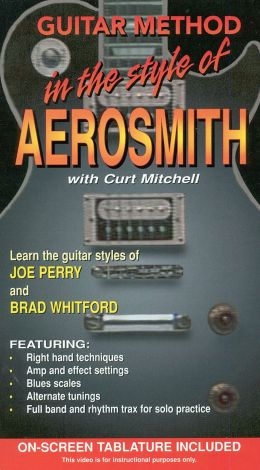 Guitar Method: In the Style of Aerosmith